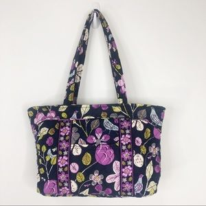 Vera Bradley Floral Nightingale Mandy Tote Handbag